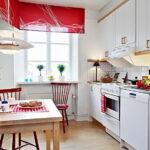 шторы для кухни оформление
