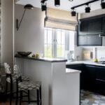 шторы для кухни оформление фото