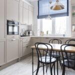 шторы для кухни варианты