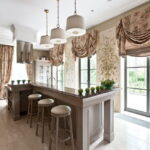 шторы для кухни фото вариантов