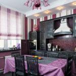 шторы для кухни фото дизайна