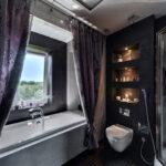 шторы для ванной комнаты идеи интерьер