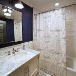 шторы для ванной комнаты идеи интерьера