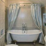 шторы для ванной комнаты фото оформления