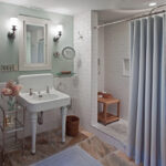 шторы для ванной комнаты фото декор