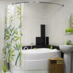 шторы для ванной комнаты варианты идеи