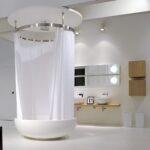шторы для ванной комнаты виды фото