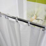 шторы для ванной комнаты виды декора