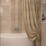шторы для ванной комнаты идеи фото