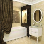 шторы для ванной комнаты