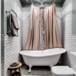 шторы для ванной комнаты фото дизайна