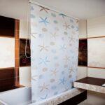 шторы для ванной комнаты дизайн идеи