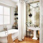 шторы для ванной комнаты идеи дизайна
