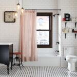 шторы для ванной комнаты идеи декор