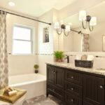 шторы для ванной комнаты интерьер