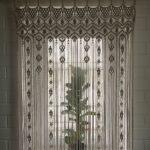 шторы макраме идеи дизайн