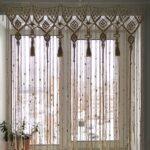 шторы макраме декор