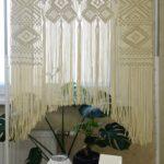 шторы макраме декор фото