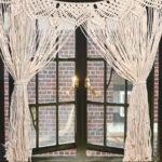 шторы макраме фото декор
