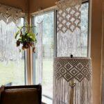 шторы макраме фото интерьер