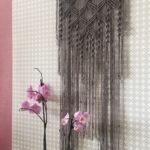 шторы макраме виды оформления