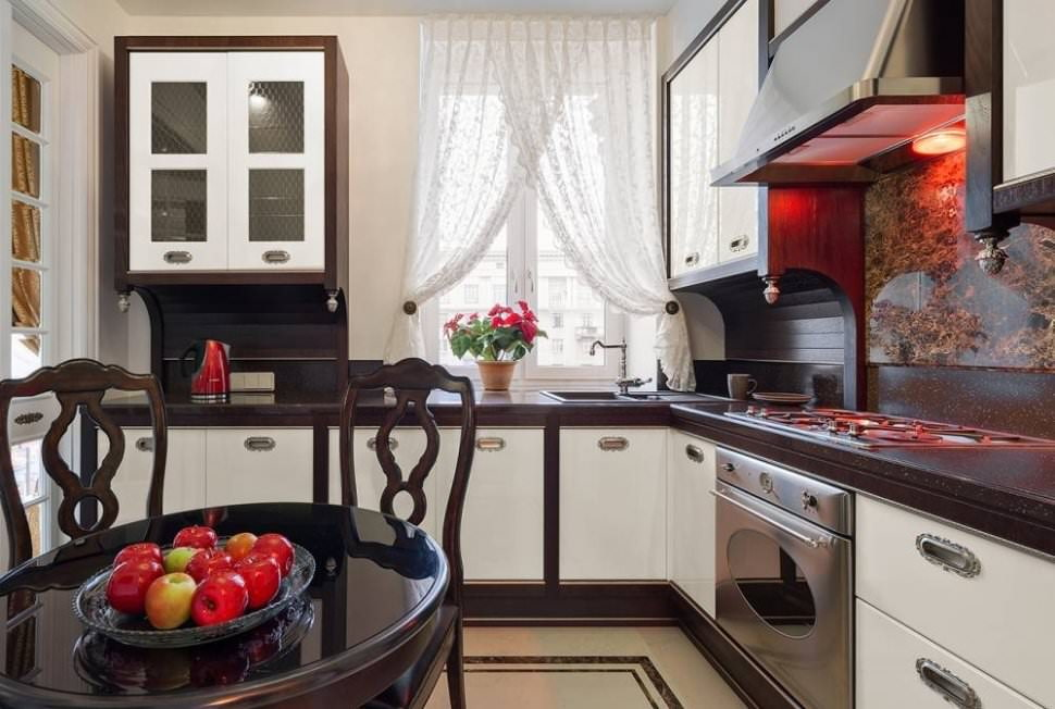 шторы на кухню фото дизайна