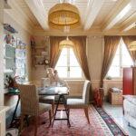 шторы в дачном доме интерьер фото