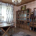 шторы в дачном доме фото интерьера