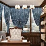 шторы в кабинет фото декор