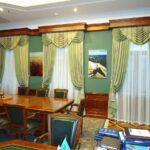шторы в кабинет фото интерьер