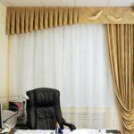 шторы в кабинет дизайн фото