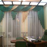 шторы в кабинет идеи оформления