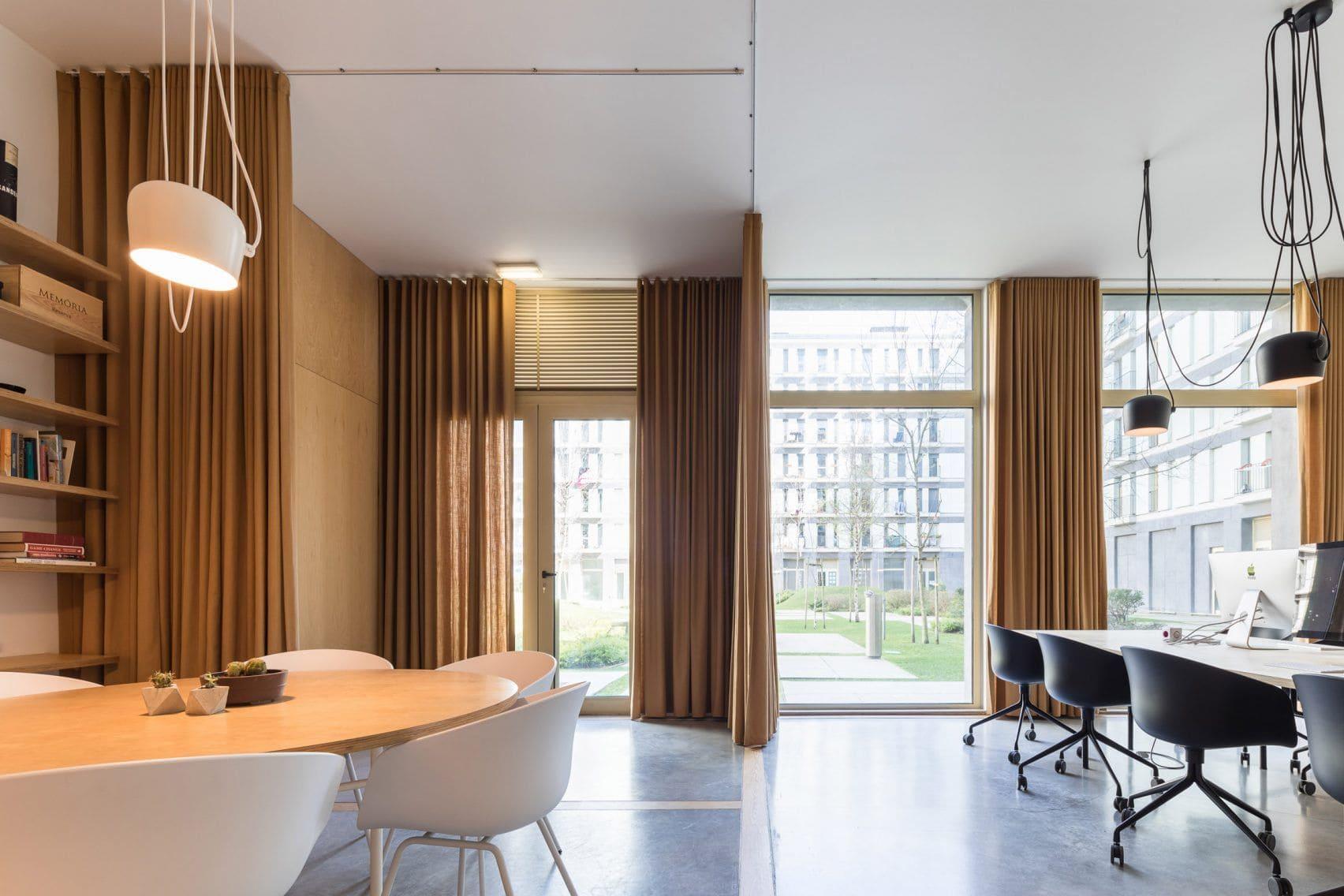 шторы в офис дизайн фото
