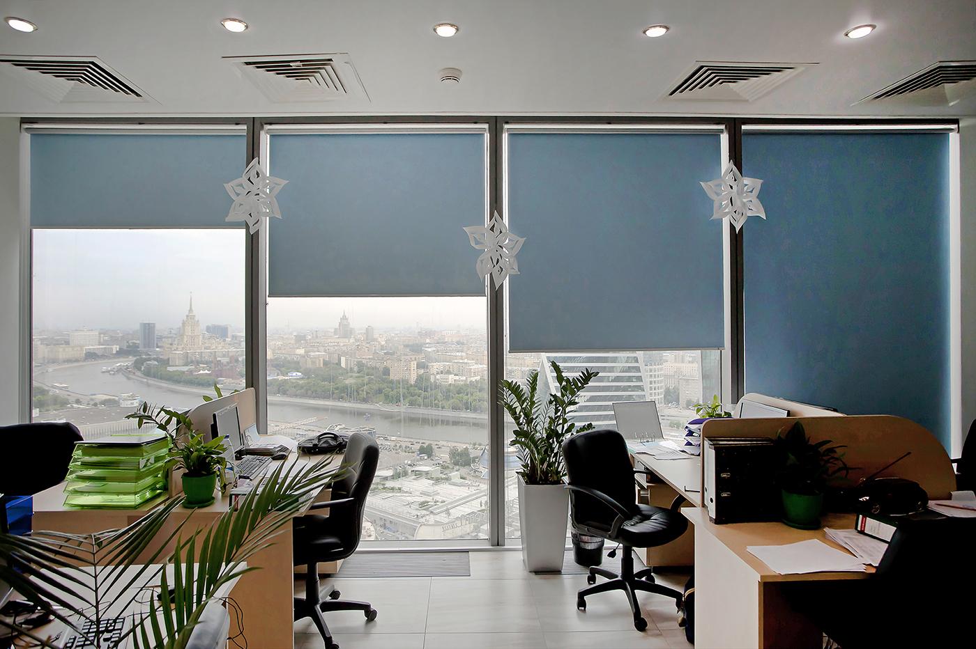 шторы в офис дизайн идеи