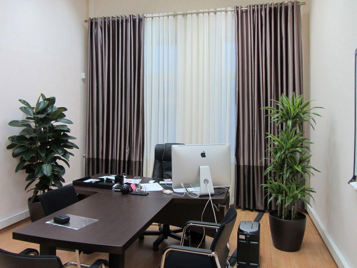 шторы в офис дизайн