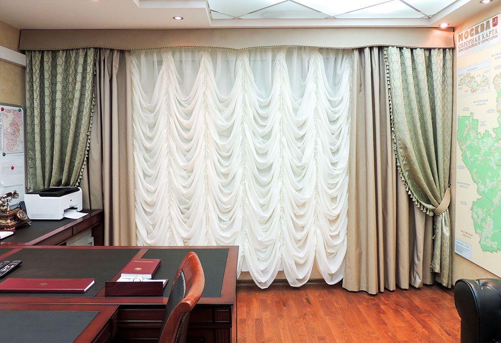 шторы в офис фото дизайн