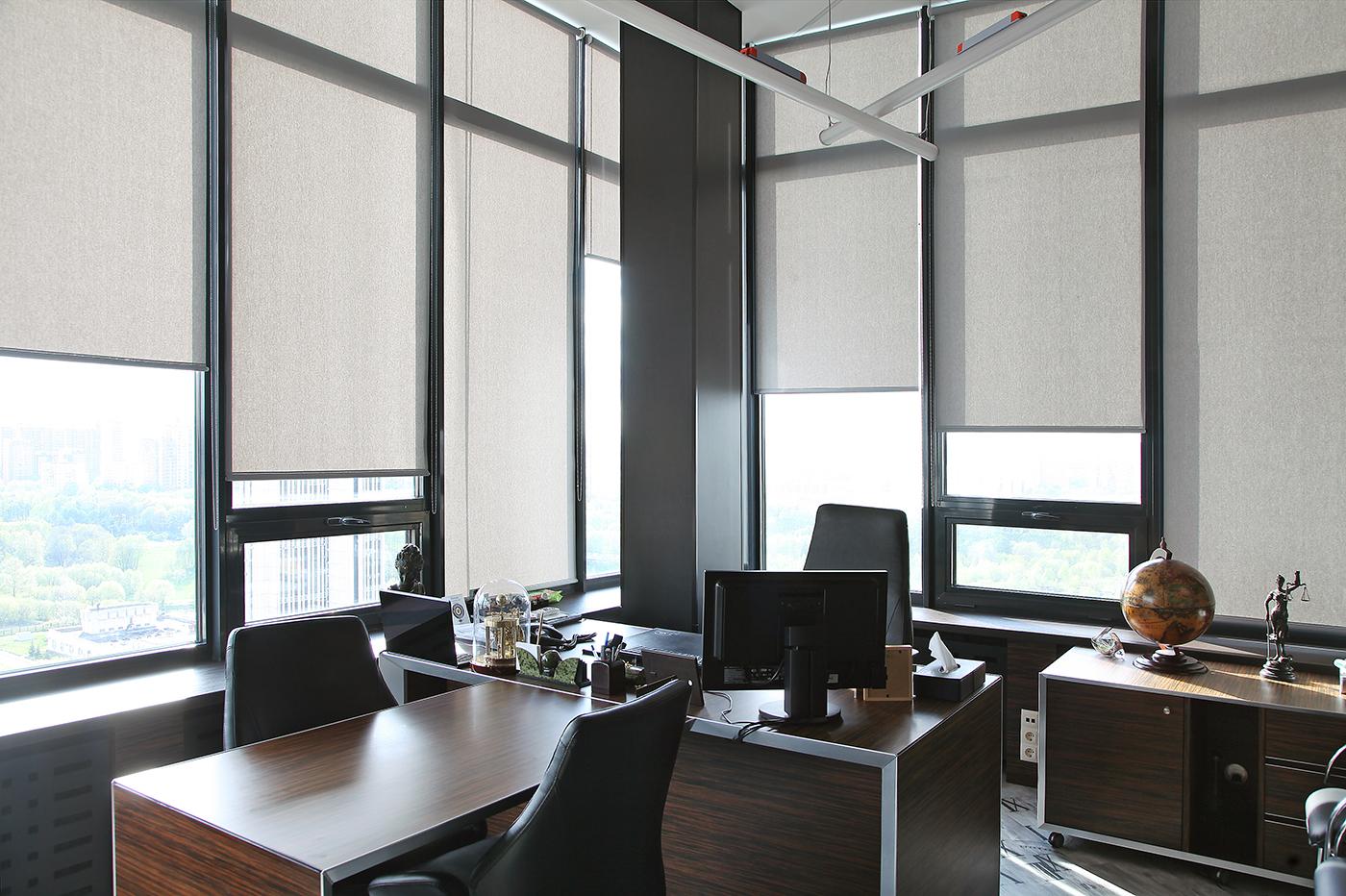 шторы в офис фото дизайна