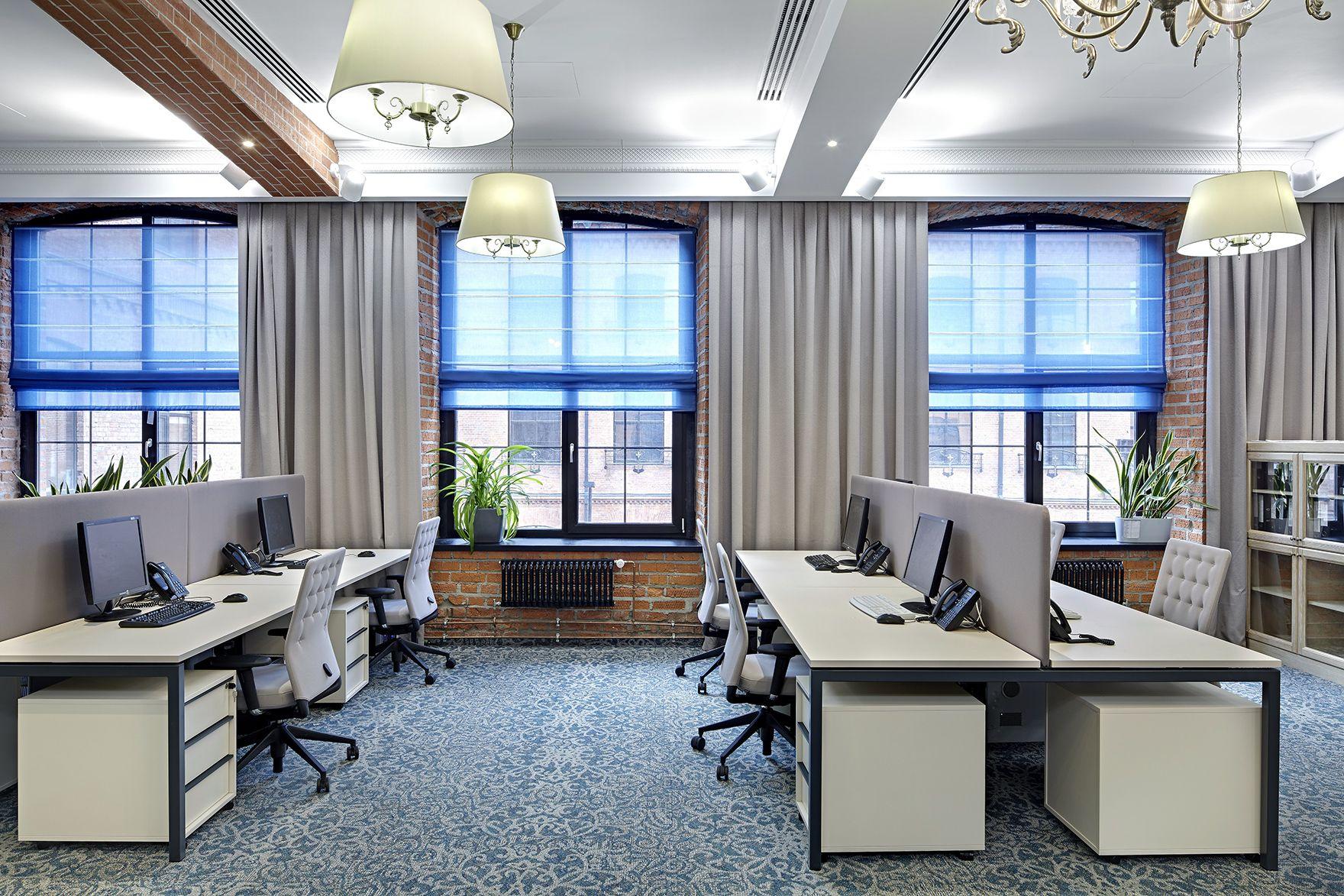 шторы в офис