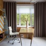 современные рулонные шторы фото декор