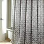 тканевая штора для ванной фото оформления