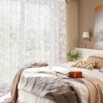тюль в спальне оформление фото