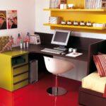 детский стол желтый