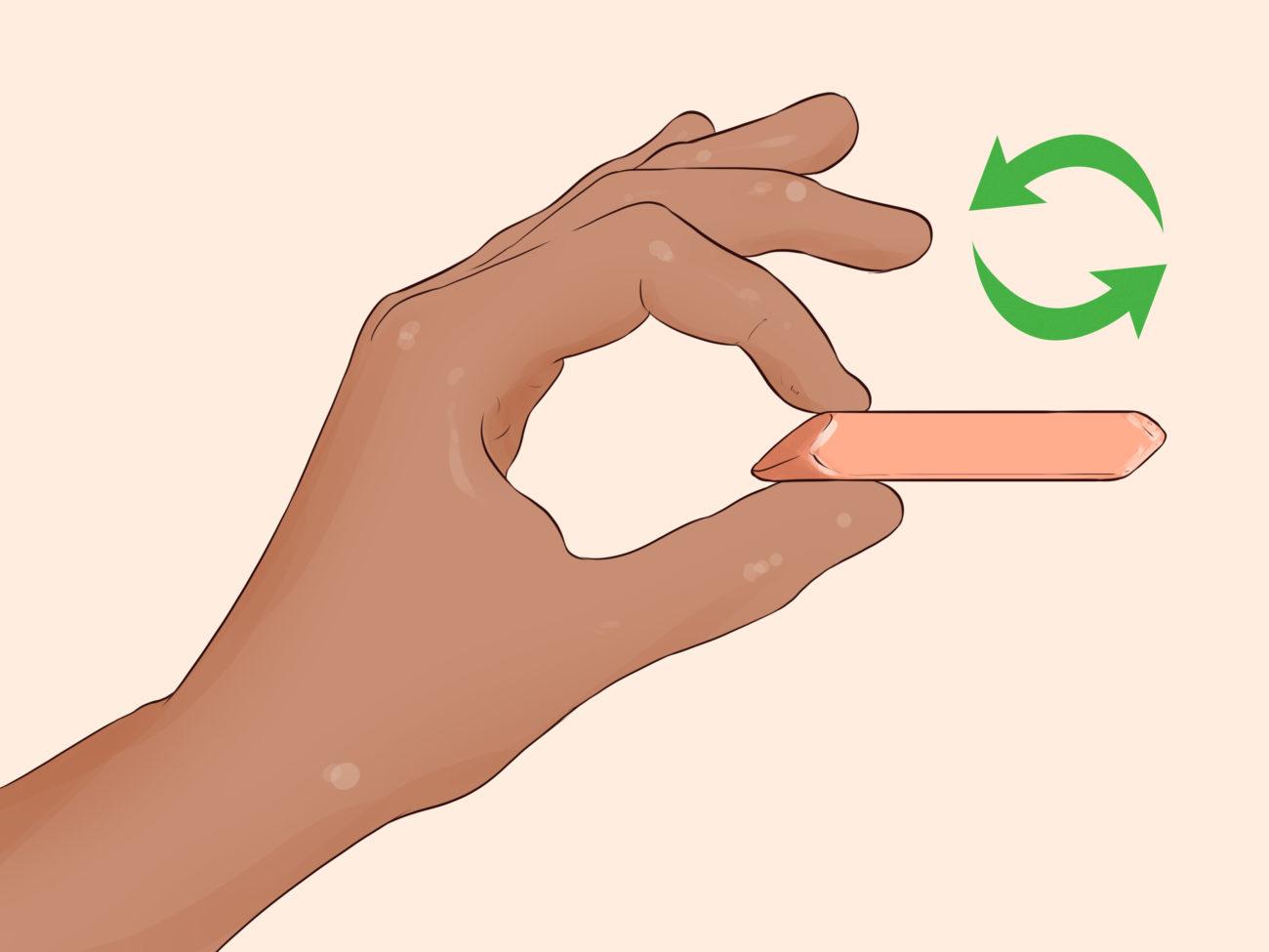 как оттереть скотч ластиком