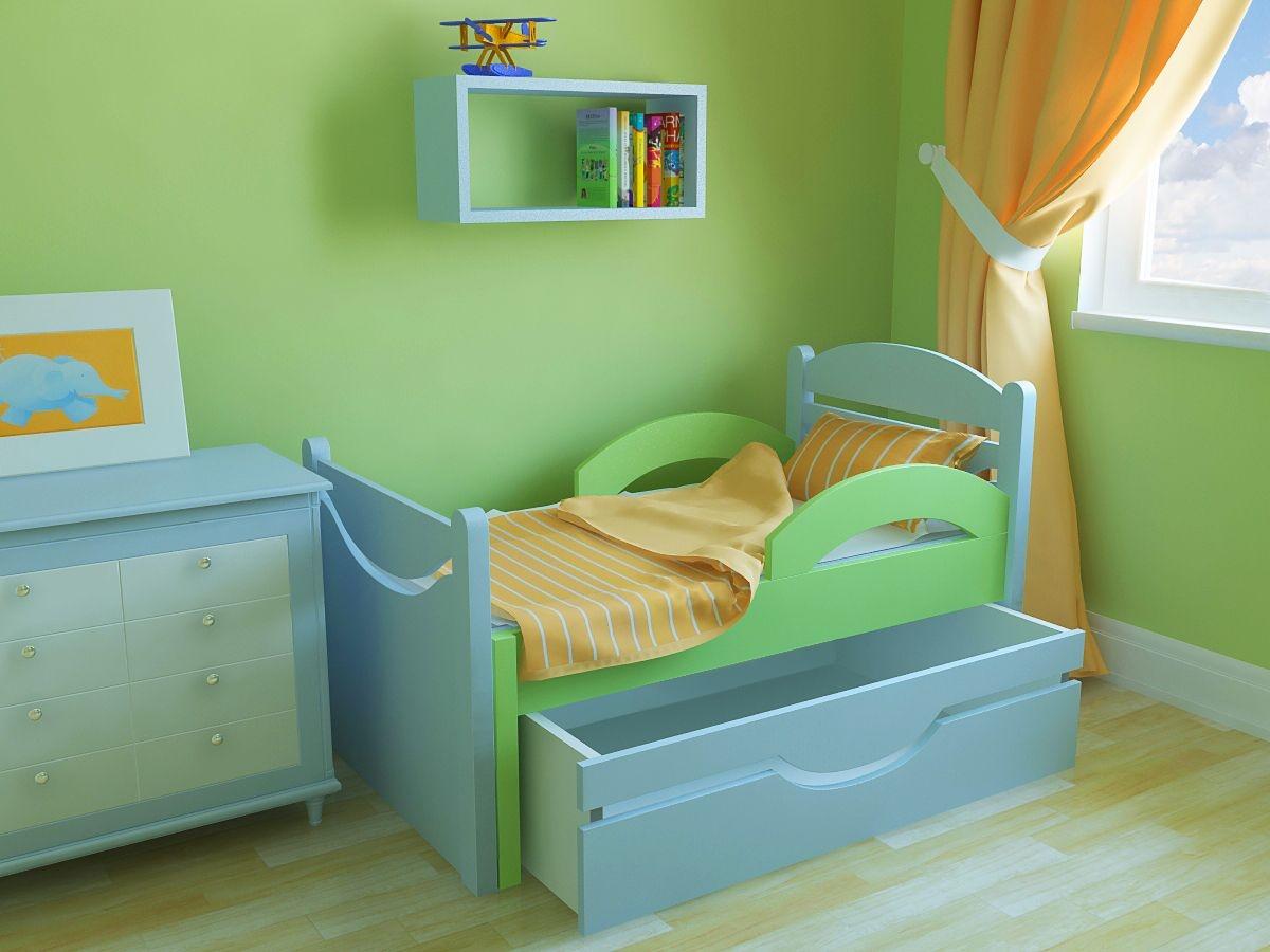 кроватка для детской комнаты