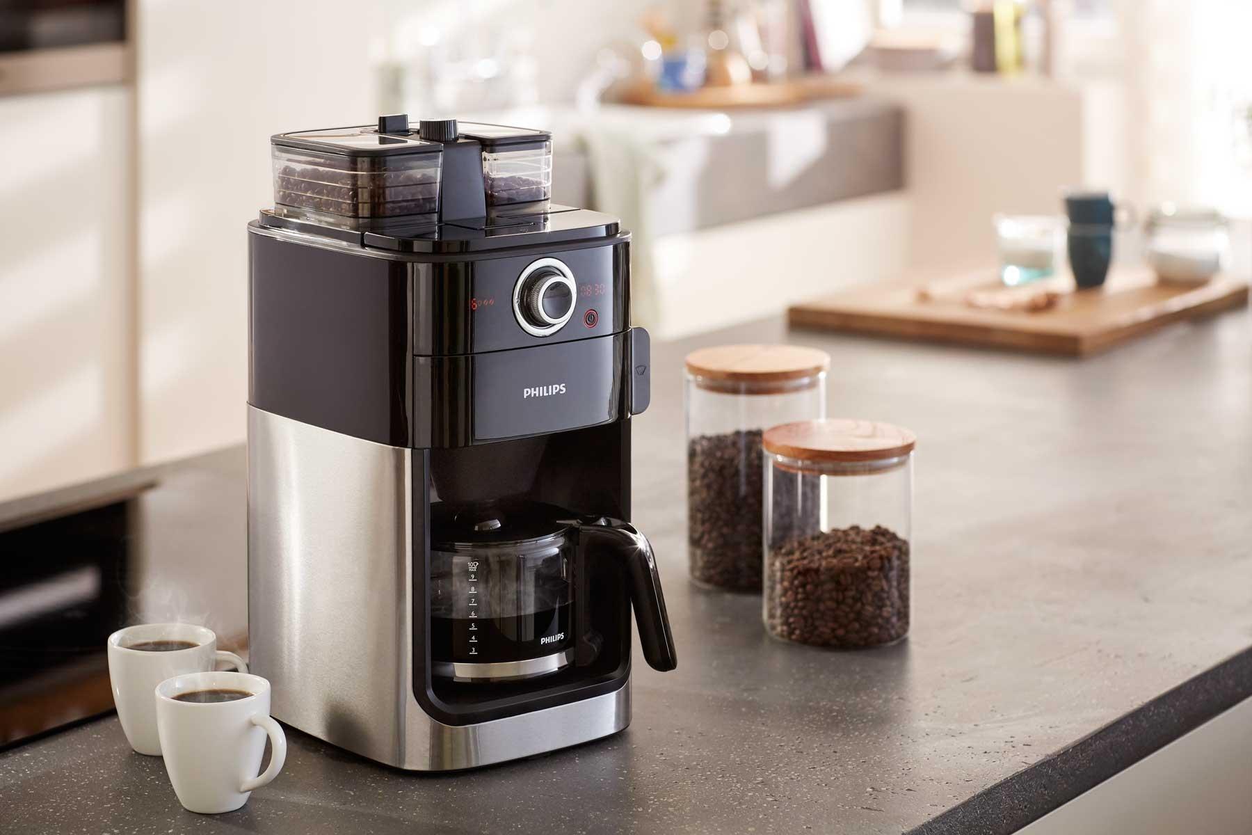 приобретение кофеварки для дома