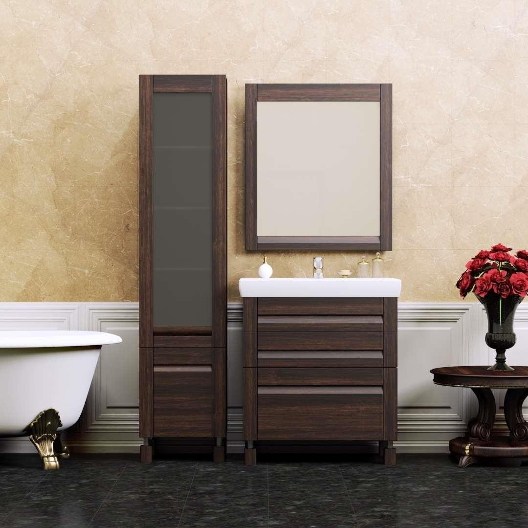 мебель венге в ванной комнате