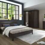 мебель венге с белым ковром