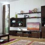 мебель венге в гостиной светлые стены