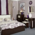 мебель венге кровать и туалетный столик