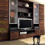 мебель венге стенка с телевизором